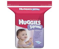 Huggies Supreme Baby Diaper Wipes, 552-Count - http://www.intomars.com/huggies-supreme-baby-diaper-wipes.html