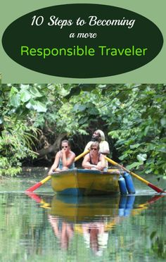 Responsible travel takes us down new pathways and uncrowded streets. It puts us in a seat next to a stranger, serves us food we've never tried, and teaches us to interact with the world in a real way, not just as a vacation spot. Here are 10 easy ways you can become a more responsible traveler. Responsible travel | Responsible tourism | Ecotourism | Green living - @greenglobaltrvl