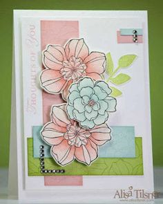Around the World Stampin'Up! Challenges: AW06: Colors/Couleurs/Colores