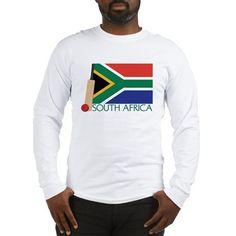 South Africa Cricket Long Sleeve T-Shirt on CafePress.com