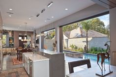 Columbia Street Residence contemporary kitchen
