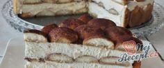 Recept Tiramisu v dortové formě Tiramisu, Rum, Cheese, Ethnic Recipes, Dios, Rome, Tiramisu Cake