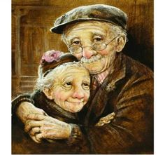 Elderly Couples, Old Couples, Elderly Man, Elderly Person, Vieux Couples, Growing Old Together, Belle Photo, Getting Old, True Love