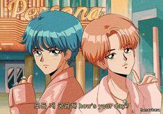 'BTS V & JIMIN - Boy with luv anime' Poster by hanavbara - Best anime list Bts Chibi, Kpop Fanart, Anime Wolf, Anime Style, Kpop Anime, Anime Version, Bts Drawings, Fanarts Anime, Bts Fans