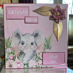 Birthday Wishes For Daughter, You Are Special, Making Cards, Card Making Inspiration, Kids Cards, Card Ideas, Projects To Try, Greeting Cards, Collections