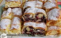 Érdekel a receptje? Kattints a képre! Hungarian Recipes, Strudel, My Recipes, French Toast, Food Photography, Sandwiches, Sweets, Bread, Snacks