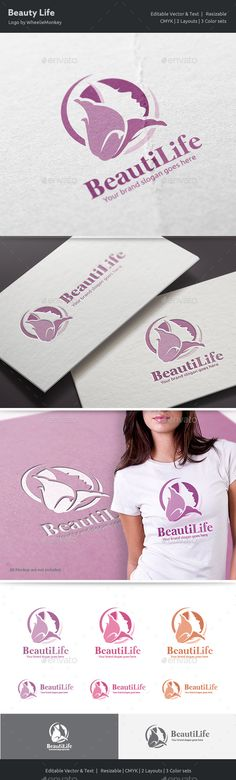 Beauty Life Logo  — EPS Template #lily #badge • Download ➝ https://graphicriver.net/item/beauty-life-logo/18574767?ref=pxcr