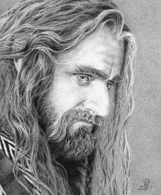 Richard Armitage as Thorin Oakenshield, The Hobbit by ~DarkJackal32 on deviantART