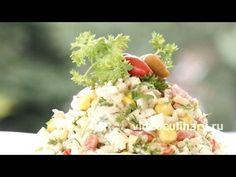 Немецкая кухня - 104 рецепта приготовления пошагово - 1000.menu Appetizer Recipes, Appetizers, Types Of Salad, Salad Recipes Video, Snacks, Food Videos, Feta, Potato Salad, Vegetables