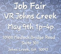 Do you want to work for a fun company like VapeRite?? If the answer that is YES then join us at the Job Fair on May 9th from 1pm-4pm at our newest VR location in John's Creek!!! Please download the PDF of the application, print, fill out, and bring the job application with you to the Job Fair. We look forward to adding some amazing new personalities to our VapeRite family!!! Application can be downloaded from this link: https://www.vaperite.com/…/about-us/employment-opportunities