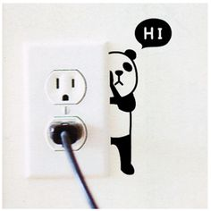 #Animal Wall Switch #Stickers