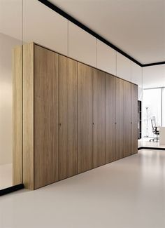 Fixed partition / wooden / for offices / professional ARIA BABINI OFFICE