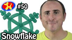 Balloon Snowflake - Balloon Animal Lessons #50 (+playlist)