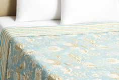 One Kings Lane - Layer Your Bed - Enchanted Seaside Quilt