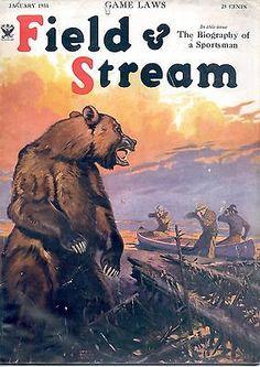 1 1934 Field and Stream Magazine | eBay