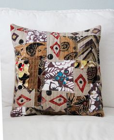 Scrappy pillow...when Sami is an old married woman, we shall get together and make stuff. :D