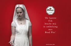 Droste campaign: Brad Pitt by Huub van Osch #vOSCH #huubvanosch #blahblahism #amsterdam #Droste