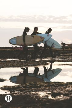 Filmed at the beautiful Tatchu Adventure Surf Camp on Nootka Island, BC, lululemon ambassador Cydney Connor and surfer Steph Wightman take us on their journey of discovering yoga and how its parallels with surfing have helped improve their experiences on and off the board.