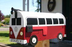 Volkswagen Bus Mail Box