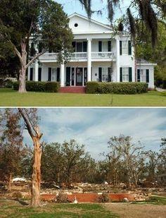 Katrina Biloxi Before and After | Biloxi, Mississippi - Before and After Katrina
