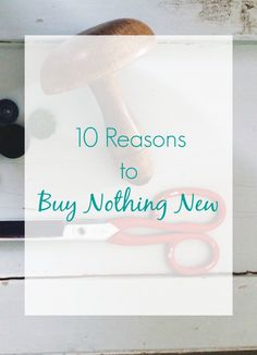 Why Buy Nothing New