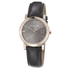Burberry Men's BU9013 Large Check Brown Leather Strap Watch Burberry. $404.05. •Quartz movement•Stainless steel case•Sapphire crystal•Brown dial•Water resistant to 50 meters (165 feet). Save 18%!