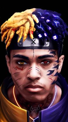 Search free XXXTentacion Wallpapers on Zedge and personalize your phone to suit you. Start your search now and free your phone Naruto Uzumaki Art, Wallpaper Naruto Shippuden, Naruto Wallpaper, Wallpaper Free, Rap Wallpaper, Cartoon Wallpaper, Supreme Iphone Wallpaper, Rapper Wallpaper Iphone, Anime Rapper