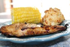 Dr. Pepper Marinated Chicken - Trisha Dishes-Dr. Pepper marinated chicken breasts on the grill is my favorite marinade. It is sweet and makes the meat so tender and delicious!