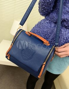 small deep blue tote $13