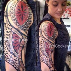 Fiji Tongan tattoo polynesian