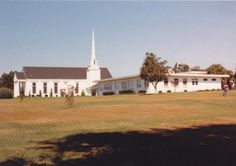 A view of the chapel and the music bulding from the south corner of the campus property -  Baptist College of Florida - Graceville, FL