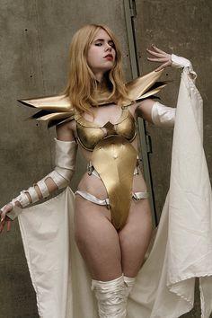 Model  Cosplay: Me [Whitelemon - Jillian Morse - Florencia Sofen Muir] as Emma Frost