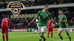 Highlights: Moldova 1-3 Ireland