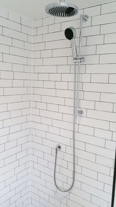 Dornbracht Tara Shower Slider In Chrome. Please Note That The Head Has Been  Swapped For