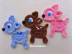 Chevron Crochet Patterns, Crochet Applique Patterns Free, Crochet Motif, Baby Knitting Patterns, Crochet Flowers, Crochet Stitches, Crochet Appliques, Crochet Embellishments, Crochet Bookmarks
