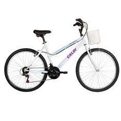 A bicicleta Caloi Ventura Aro 26 Branca