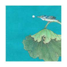 Galerie de peinture chinoise : les animaux found on Polyvore