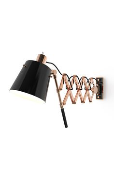 Pastorius swing arm lamp is a luxurious sconce light. This extendable light is either functional, by adjusting its extendable arm into different positions. Pure vintage, it's ideal to suit in a bedroom. Its structure is made out of brass and the lampshade in aluminium.