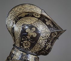 Not for biking:  Armor of George Clifford, Third Earl of Cumberland  Made under the direction of Jacob Halder  (English, master armorer at royal workshops at Greenwich, documented 1558–1605)  This artwork is currently on display in the Metropolitan Museum of Art, NY
