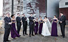 Regina Wedding Photographer -#13- wedding party trying to pop wine cork- funny