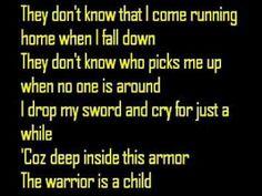 Twila Paris...the warrior is a child.