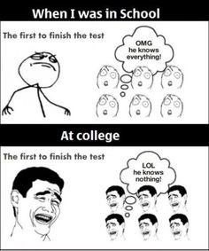 Super Funny School Memes So True Words Ideas funny memes 713750240928340799 College Humor, College Life, Freshman Memes, Funny College, College Success, College Quotes, Memes Humor, Math Humor, Humor Quotes