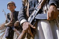 Afghanistan boy...following a history of expectant holy war?