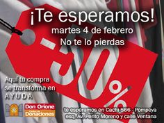 Cachi 566 esq. Av. Perito Moreno - Pompeya - CABA (Buenos Aires - Argentina) de Lu. a Vi. de 9 a 12 y de 13:30 a 17hs. Te esperamos el 4 de febrero!