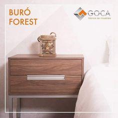 !Buró de 2 cajones Forest, ideal para dar un toque de modernidad a tu habitación!
