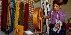 Teotitlán del Valle #Oaxaca telar #tapetes