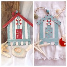 Decosurvintage : Casitas de playa