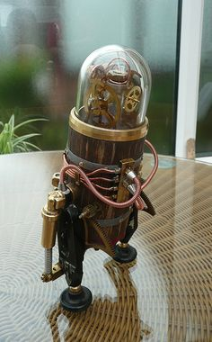 Steam Punk Robot (by spyduck)