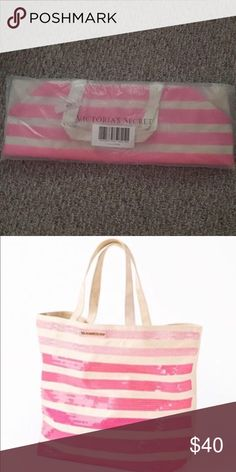 VS Pink Bag New with tags, still in bag. Super cute! CROSS POSTED PINK Victoria's Secret Bags Travel Bags