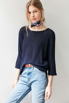 Silence + Noise Miley Dolman Pullover Sweater - Urban Outfitters
